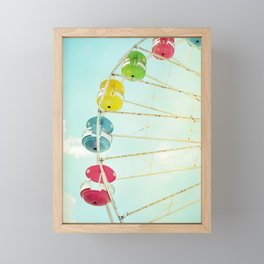 Wheel of Happiness Framed Mini Art Print