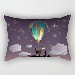 Balloon Aeronautics Night Rectangular Pillow