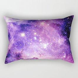 Galaxy Nebula Purple Pink : Carina Nebula Rectangular Pillow