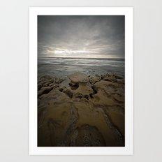 The Rocks Art Print