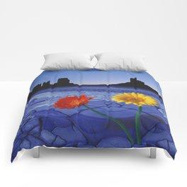 Desert Blues Comforters