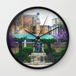 Trapani art 12 Sicily Wall Clock