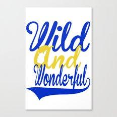 Wild and Wonderful WV Canvas Print