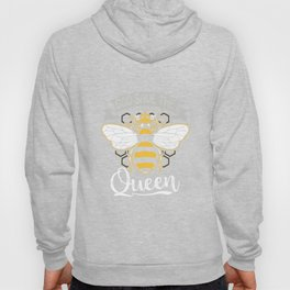 Womens God Save The Queen Bee daughter T-Shirt Hoody