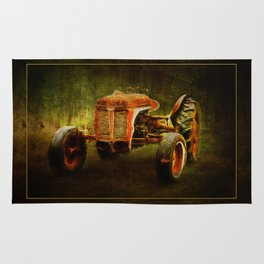 Ferguson Waiting on LaGest ~ Tractor ~ Ginkelmier Inspired Rug