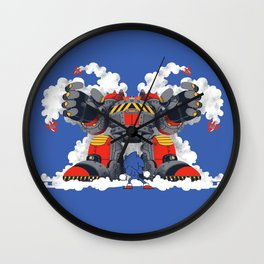Showdown Wall Clock