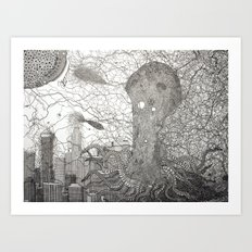 The Invasion of Los Angeles  Art Print