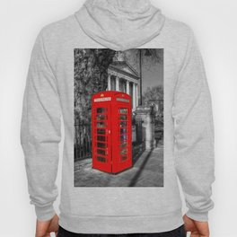 London Red Telephone Box Hoody