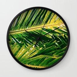 Isla Palm Wall Clock