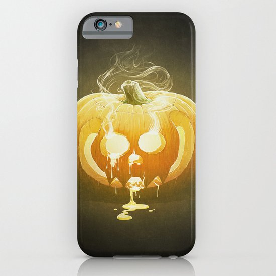 Pumpkin II. iPhone & iPod Case