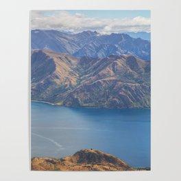 Roys Peak Lookout 1 Poster
