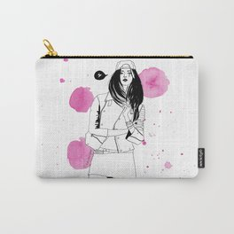 I am a girl Carry-All Pouch