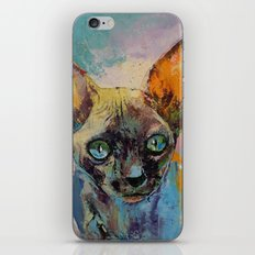Sphynx iPhone & iPod Skin