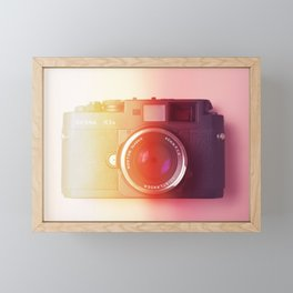 #01_BessaR3a#film#effect Framed Mini Art Print