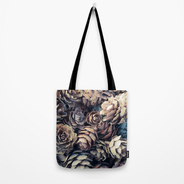 Tiny Pinecones Tote Bag