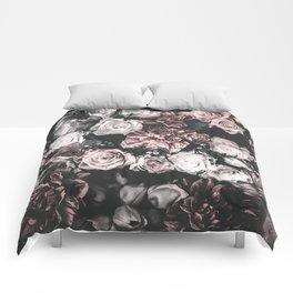 Pink flowers Comforters