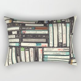 Cassettes Rectangular Pillow