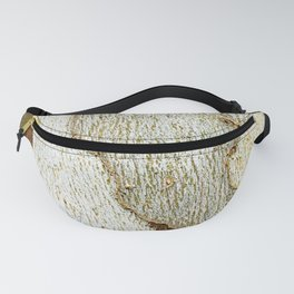 Sycamore Tree Bark Pattern #4 Fanny Pack