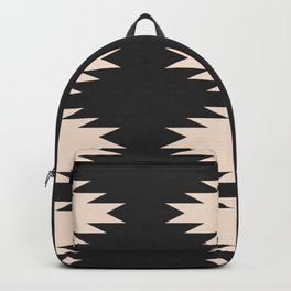 Minimal Southwestern - Charcoal Backpack