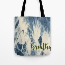 Breathe Indigo Tote Bag