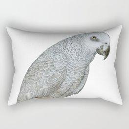 African Grey Parrot Rectangular Pillow