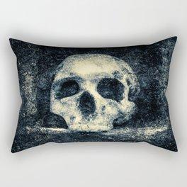 Old Skull - Memento Halloween Rectangular Pillow
