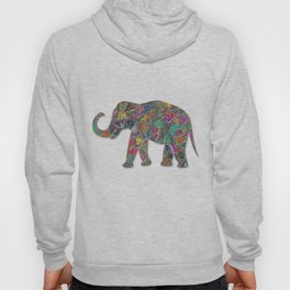 Animal Mosaic - The Elephant Hoody