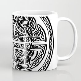 Wolf logo black and white Coffee Mug