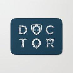 DOCTOR - clean tee print version Bath Mat