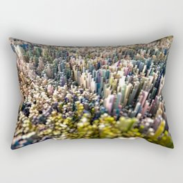 Abstract Topography - Rome Rectangular Pillow