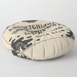 Spirit Board Floor Pillow