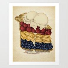 American Pie Art Print