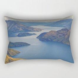 Roys Peak Lookout 2 Rectangular Pillow