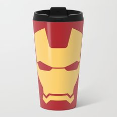 Iron man superhero Metal Travel Mug