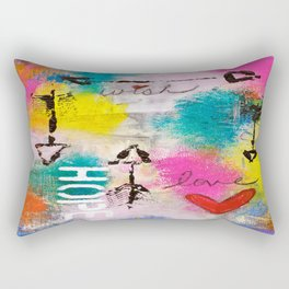 Wish Love Hope Rectangular Pillow