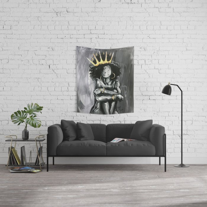 Naturally Queen IX Wall Tapestry
