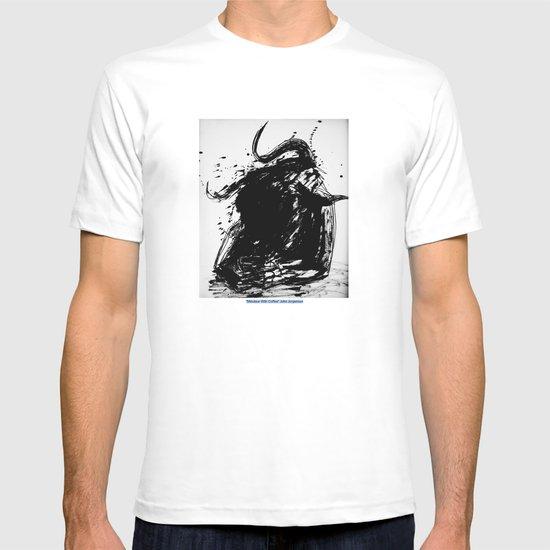 Minotaur With Coffee T-shirt