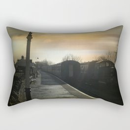 Bitton Railway Platform Rectangular Pillow