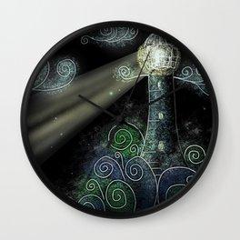 Beacon in the Night Wall Clock