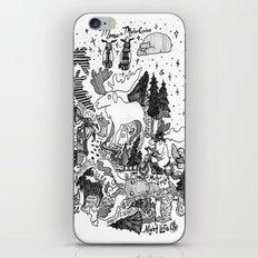 Moose Motor Cycles iPhone & iPod Skin