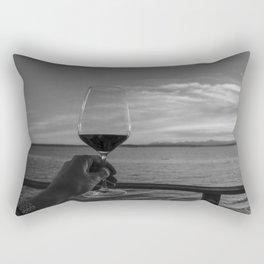 Toast to the Ocean Rectangular Pillow