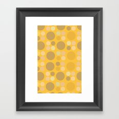 Lots o dots Framed Art Print