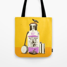 MUSIC IS MEDICINE Tote Bag