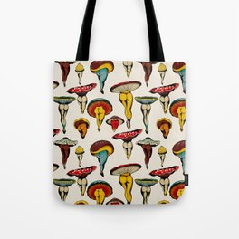 Sexy mushrooms Tote Bag