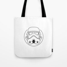 Stormtrooper from Galactic Empire. Tote Bag