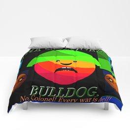 """Colonel """"Bulldog""""! Comforters"""