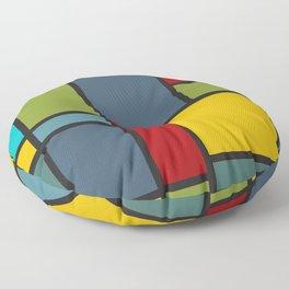 Geometric artwork influenced by…er… Floor Pillow
