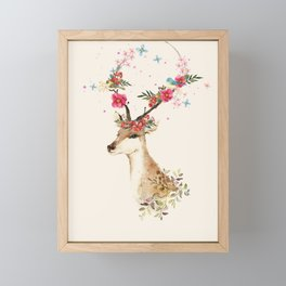 Doe 1 Framed Mini Art Print
