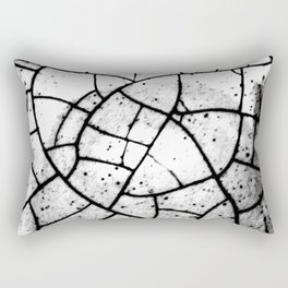 Crackled texture Rectangular Pillow