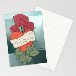 Wrong to none Stationery Cards
